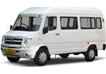 AC Tempo Traveller, up to 10 travellers maximum