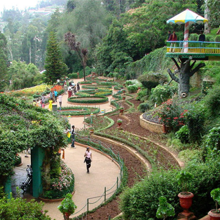 Ooty City Tourist Places