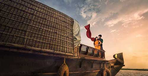 Honeymoon to Alleppey Backwater