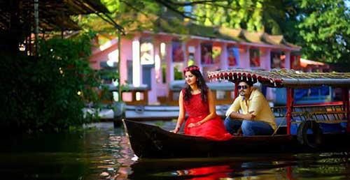 Honeymoon Tour to Hill & Backwater