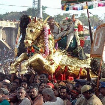 Chithirai or Alagar Festival