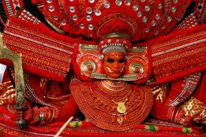 Theyyam performance in Kannur