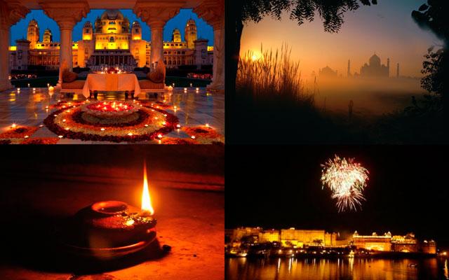 Diwali celebration in Indian states