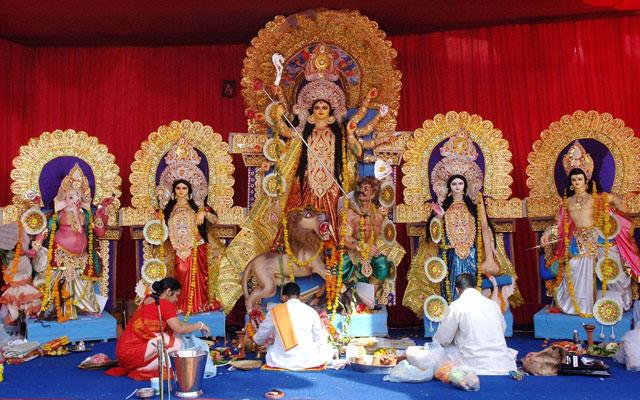 Diwali celebration in Kolkata temples
