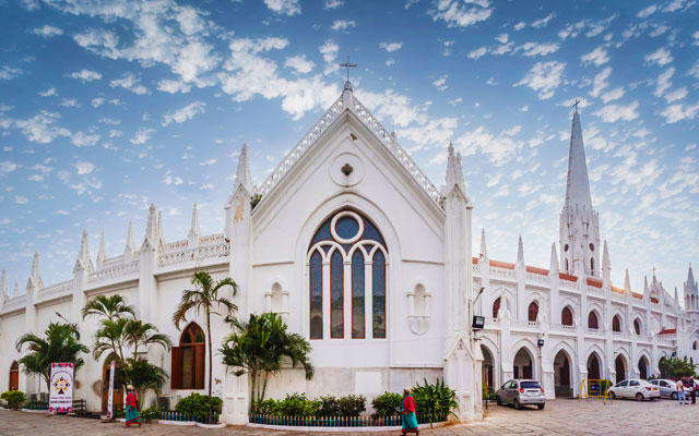 Santhome Church in Chennai, Tamilnadu