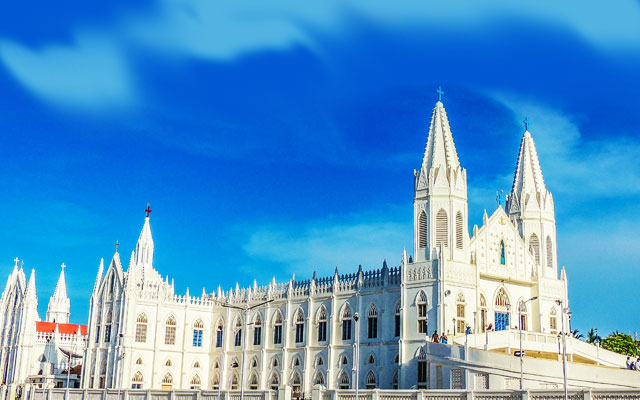 Our Lady of Good Health, Velankanni church in Tamil Nadu