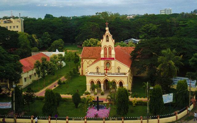 CSI Wesley Cathedral in Mysore, Karnataka