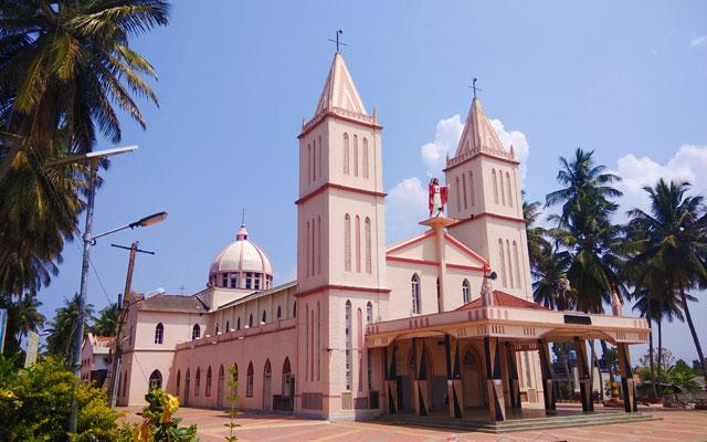 St. Antony's Shrine in Dornahalli, Mysore