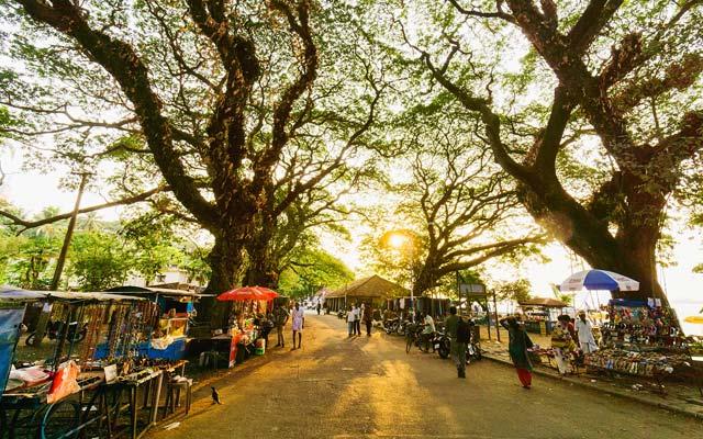 Vasco-da-Gama Square in Fort Kochi