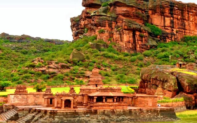 Badami cave temple Karnataka