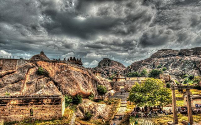 Chitradurga fort in Karnataka