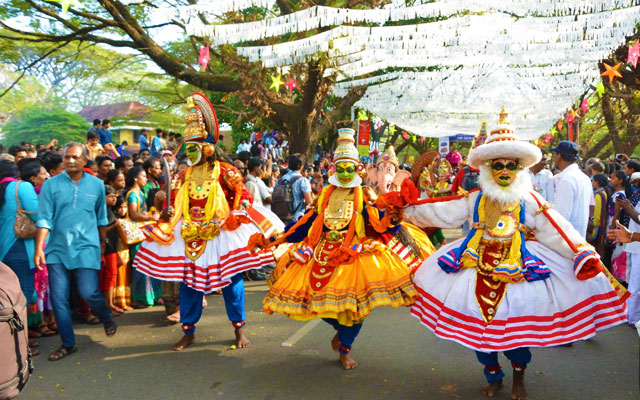 Christmas and New Year celebration in Cochin Carnival, Kochi