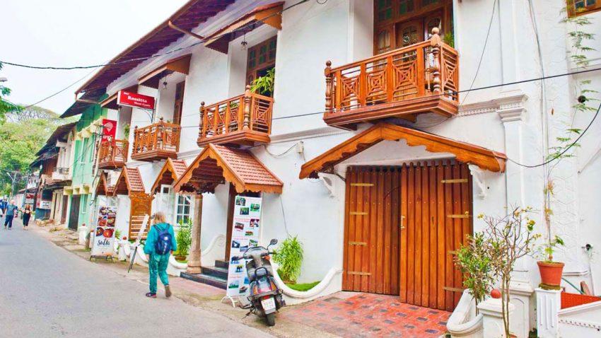 Streets of Fort Kochi, Kerala