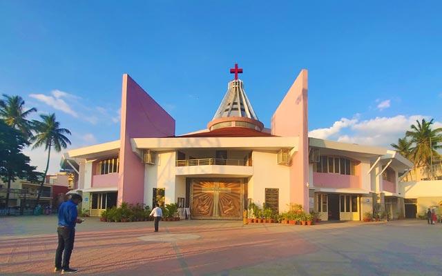 Infant Jesus Church in Bangalore