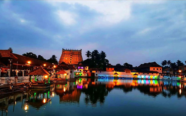 Sri Padmanabhaswamy Temple in Thiruvananthapuram, Kerala