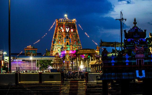 Thiruvallikeni Parthasarathy Swamy Temple