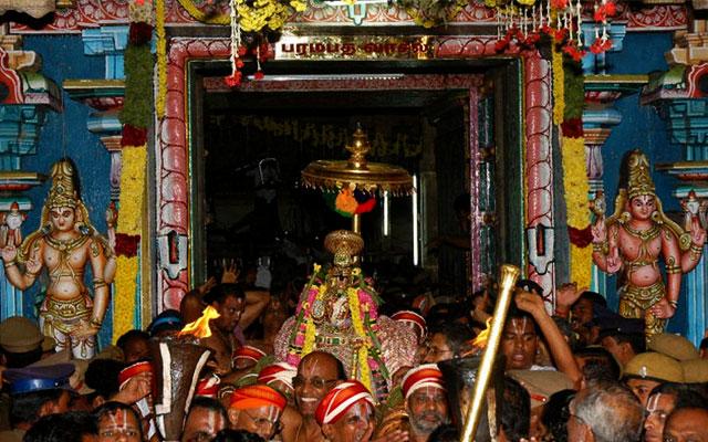 Srirangam Temple Vaikuntha Ekadashi Festival