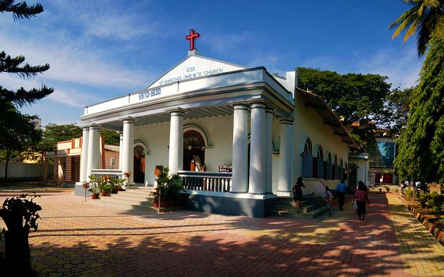 St.Bartholomews Church in Mysore