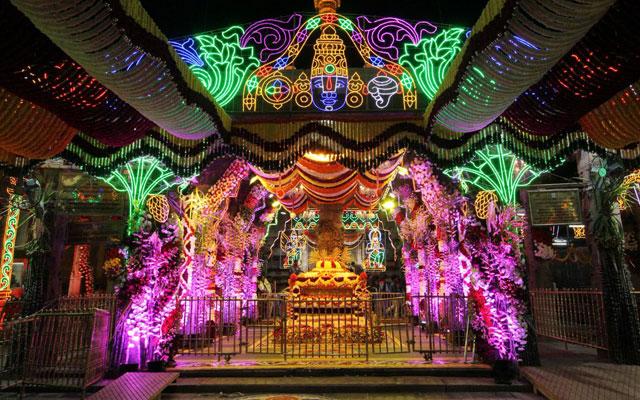 Vaikunta Dwaram in Sri Venkateswara Swamy Vaari Temple, Tirupati, Andhra Pradesh