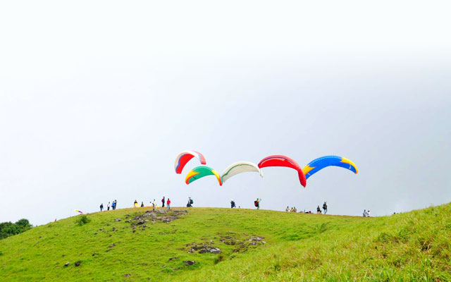 Vagamon adventure tour in Kerala