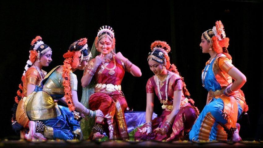Disciples of Dr padma sri sobhanaidu perform Jagadanandakaraka,Kuchipudi dance ballet,mythological ramayanam story