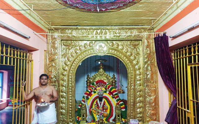 Thyagaraja Samadhi Temple in Thiruvaiyaru