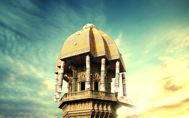 Valluvar Kottam, one of the popular monument in Chennai