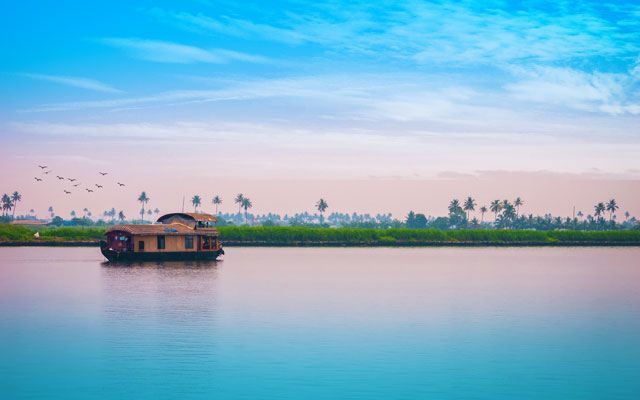 A scenic and natural beauty of Alappuzha