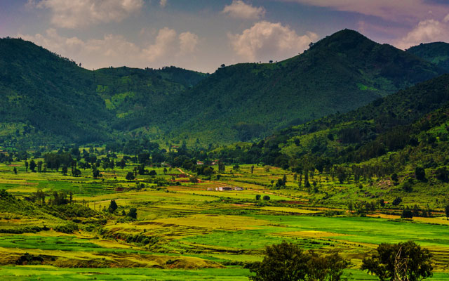 An amazing view of Araku Valley in the southeastern Indian state of Andhra Pradesh.