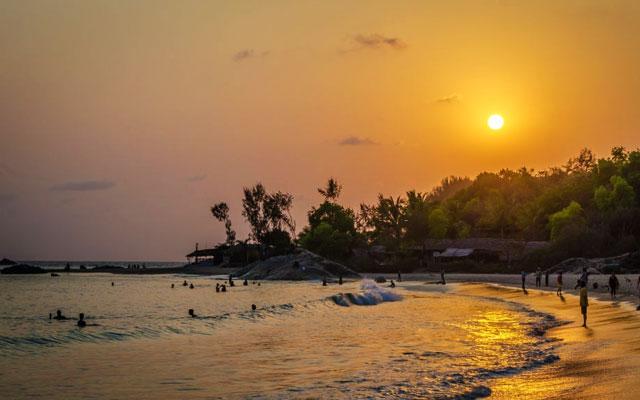 Sunset at Gokarna Beach, Karnataka, India