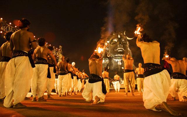 Maha Shivratri Celebration in Isha Yoga Centre near Coimbatore