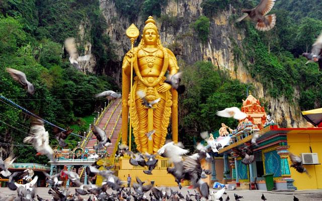 Lord Murugan Statue in Malaysia
