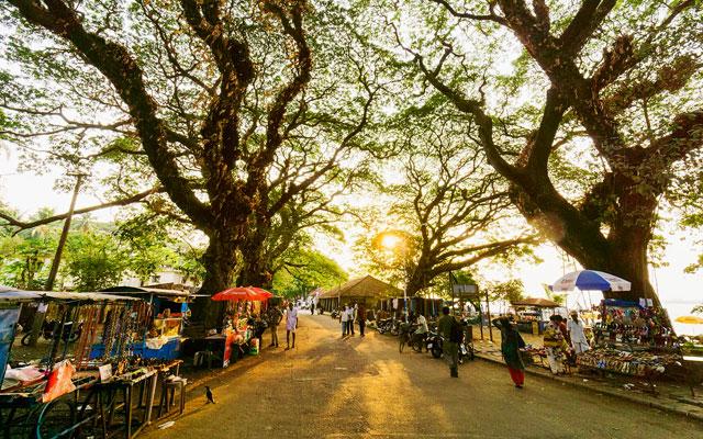 Vasco da gama square in Kochi, Kerala