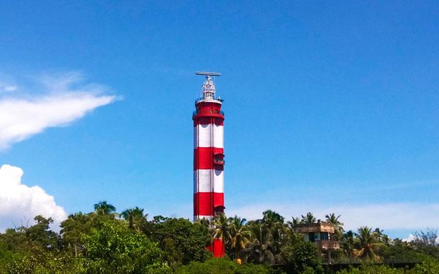 Vypin lighthouse in Kochi, Kerala