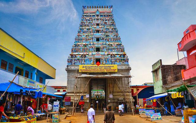 Thirunallar Saneeshwaran temple
