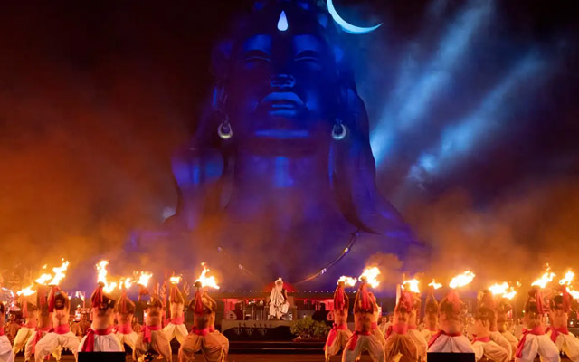 Mahashivratri celebration in Isha Yoga Centre in Coimbatore